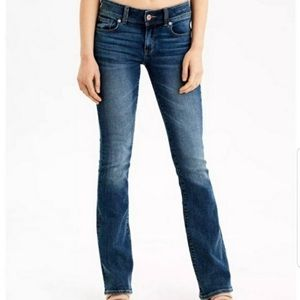American Eagle Kick Boot Stretch Jeans 4 long